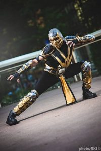Some Scorpion Cosplay