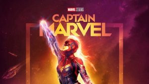 Captain Marvel And Alita Battle Angel Posters