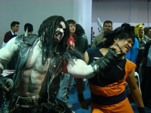 Two Big Hitters – Cosplay
